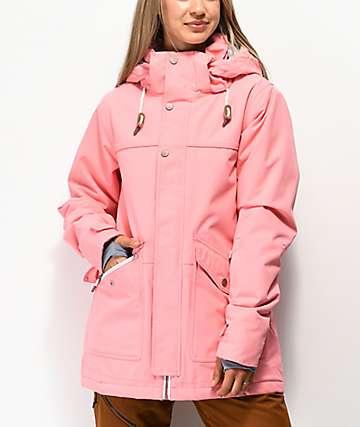 Rojo Aster Flamingo Pink 15K Snowboard Jacket