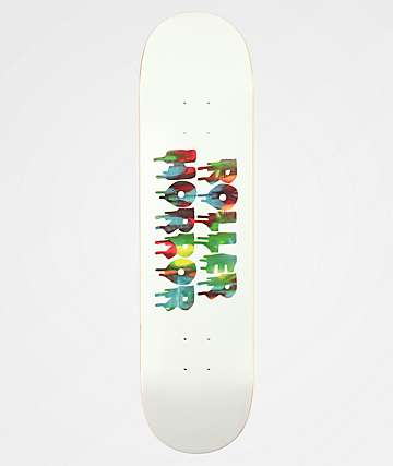 "Roller Horror Finger Paint Logo 8.0"" Skateboard Deck"