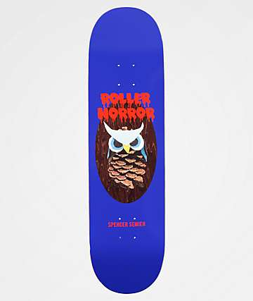 "Roller Horror Spencer Owl 8.5"" Skateboard Deck"