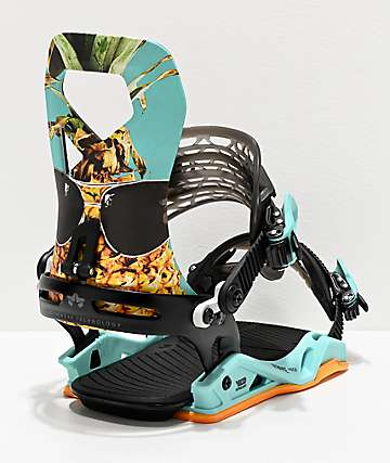 Rome Vice Party Snowboard Bindings 2020