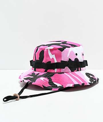 Rothco Jungle Pink Camo Bucket Hat