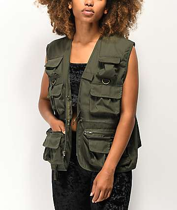 Rothco Olive Utility Vest