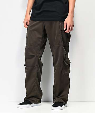 Rothco Paratrooper Vintage Brown Cargo Pants