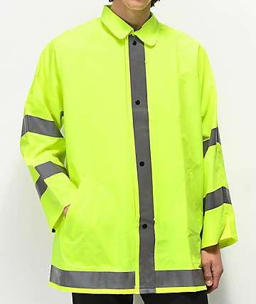Rothco Safety Green Reflective Jacket