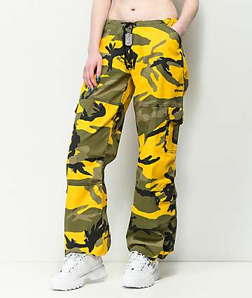 Rothco Yellow Camo BDU Pants
