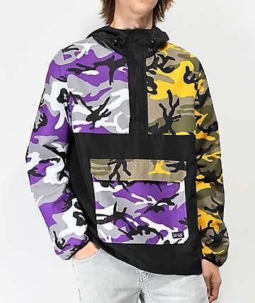 Rothco x Vitriol Cobra chaqueta anorak de camuflaje