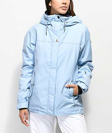Roxy Billie Powder Blue 10K Snowboard Jacket