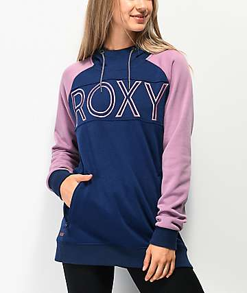 Roxy Liberty Midieval Blue Hoodie