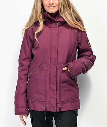 Roxy Meade Grape Wine 10K Snowboard Jacket