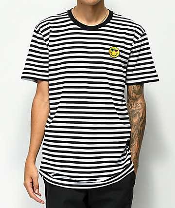 Roy Purdy Striped Black & White T-Shirt