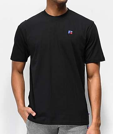Russell Athletic Baseliner camiseta negra