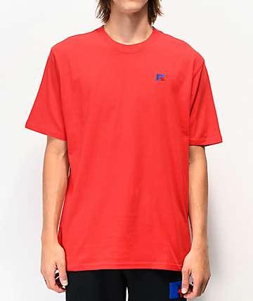 Russell Athletic Baseliner camiseta roja