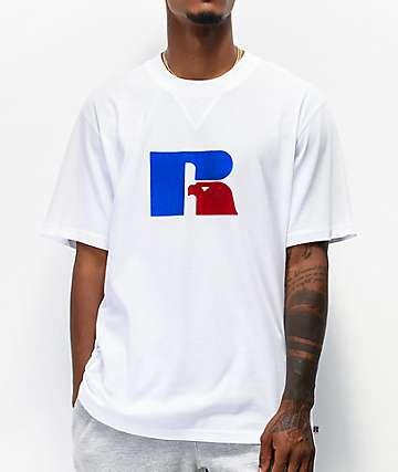 Russell Athletic Jerry Flock camiseta blanca