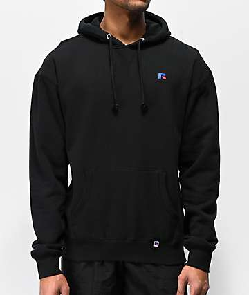 Russell Athletic Mason Black Hoodie