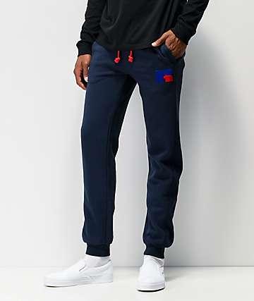 Russell Ernest jogger pantalones deportivos azules