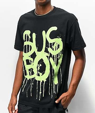SUS BOY Spider camiseta negra