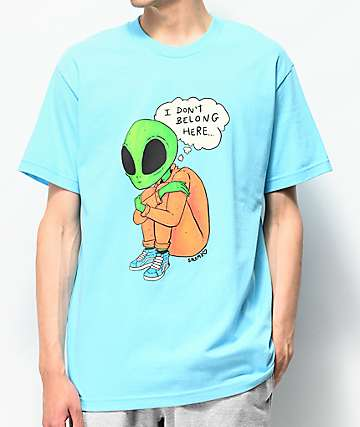 Salem7 Homesick Light Blue T-Shirt