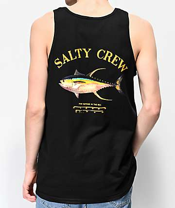 Salty Crew Ahi Mount Black Tank Top