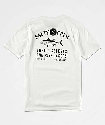 Salty Crew Boys Markets White T-Shirt