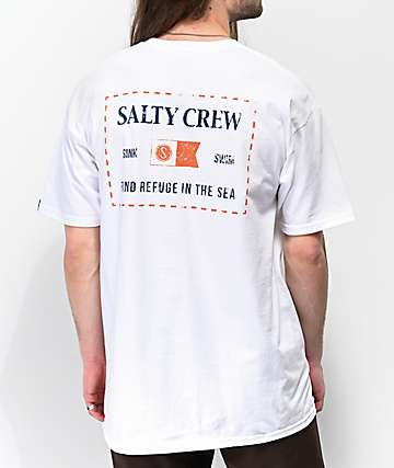 Salty Crew Essentials White T-Shirt