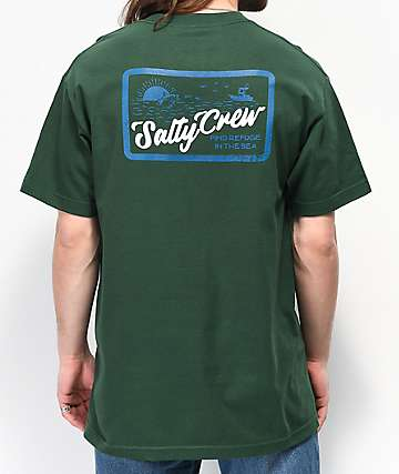 Salty Crew Foamer Green T-Shirt