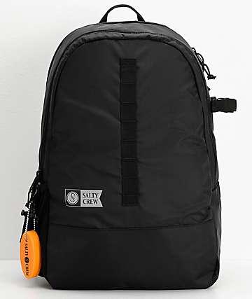 Salty Crew Foot Patrol Black Backpack