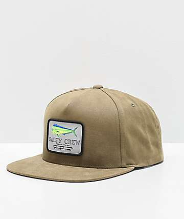 Salty Crew Mahi Mount Loden Snapback Hat