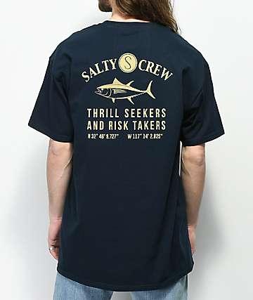Salty Crew Markets Navy T-Shirt