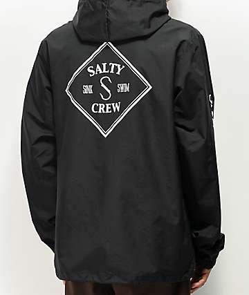 Navy New Salty Crew Markets Pullover Hoody