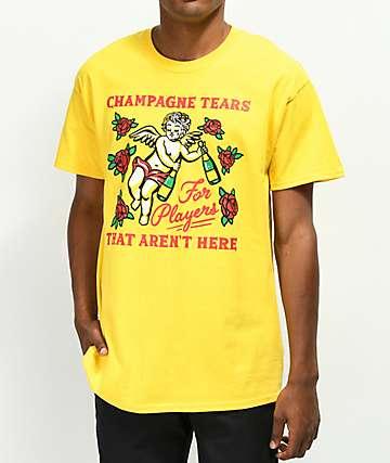 Samborghini Champagne Tears Yellow T-Shirt