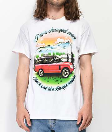 Samborghini Changed Man White T-Shirt