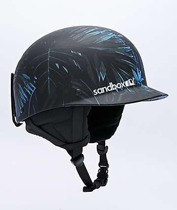 Sandbox Classic 2.0 Tropic Storm casco de snowboard azul y negro