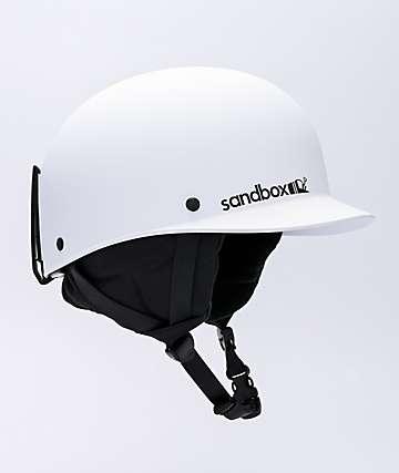 Sandbox Classic 2.0 casco de snowboard blanco