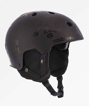 Sandbox Legend casco de snowboard negro floral