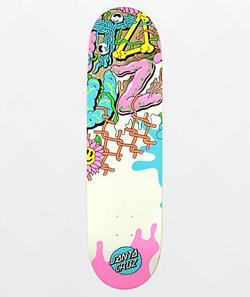"Santa Cruz Baked Dot VX 8.5"" Skateboard Deck"
