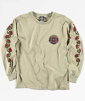 Santa Cruz Boys Dressen Roses Long Sleeve T-Shirt
