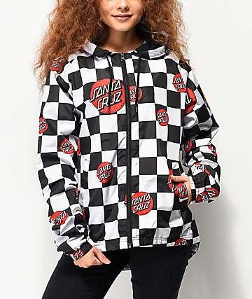 Santa Cruz Checker Dot chaqueta cortavientos
