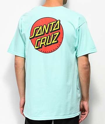 Santa Cruz Classic Dot Celadon T-Shirt