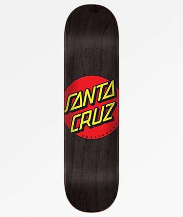 Santa Cruz Classic Dot Wide Tip 8.0 tabla de skate