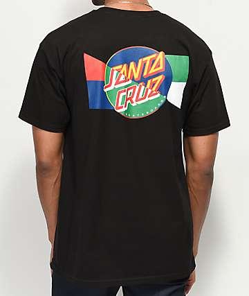 Santa Cruz Dot Blocker Black T-Shirt