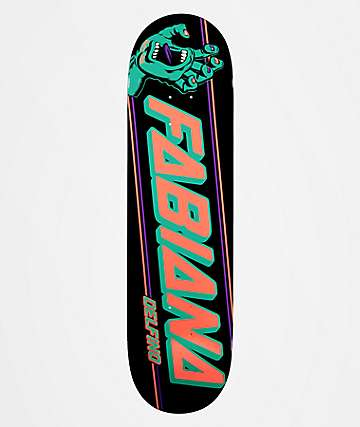 "Santa Cruz Fabiana Strip 8.25"" Skateboard Deck"