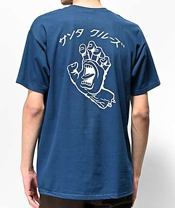 Santa Cruz Hando Blue T-Shirt