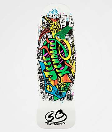"Santa Cruz Kendall Graffiti Reissue 9.69"" Skateboard Deck"