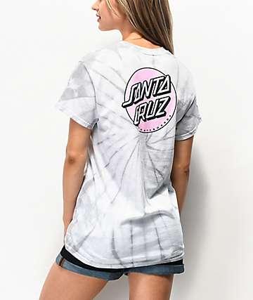 Santa Cruz Missing Dot Spider Tie Dye T-Shirt