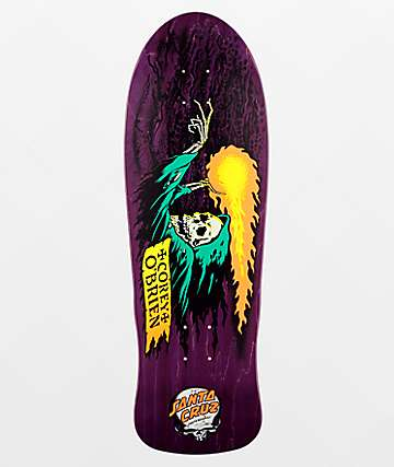 "Santa Cruz O'Brien Reaper 9.85"" Skateboard Deck"