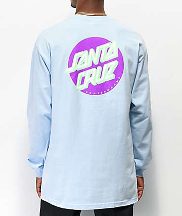 Santa Cruz Other Dot Blue Long Sleeve T-Shirt