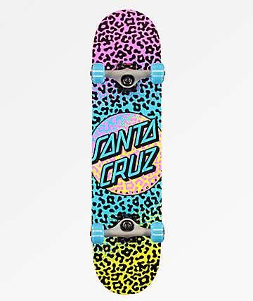 """Santa Cruz Prowl Dot 7.5"""" Skateboard Complete"""