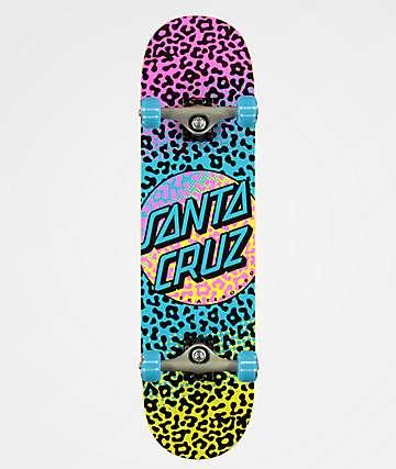 """Santa Cruz Prowl Dot 8.0"""" Skateboard Complete"""