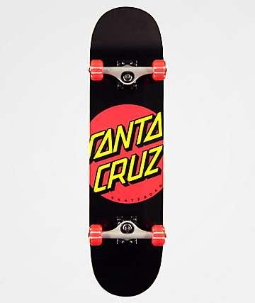 """Santa Cruz Red Dot 8.0"""" completo de skate"""