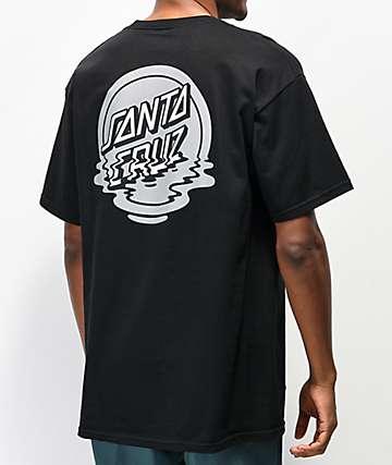 Santa Cruz Reflection camiseta negra